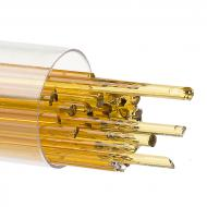 Medium Amber Transparent, Stringer, 2 mm, Fusible, by the Tube
