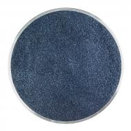 Aventurine Blue Transparent, Powder Frit, Fusible, 5 oz. jar