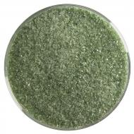 Olive Green Transparent, Fine Frit, Fusible, 5 lb. jar