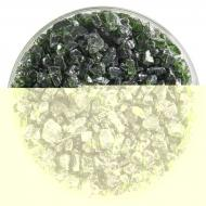 Olive Green Transparent, Coarse Frit, Fusible, 1 lb. jar