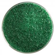 Kelly Green Transparent, Fine Frit, Fusible, 5 oz. jar