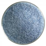 Steel Blue Transparent, Fine Frit, Fusible, 5 lb. jar