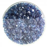 Steel Blue Transparent, Coarse Frit, Fusible, 5 oz. jar