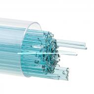 Light Aquamarine Blue Transparent, Stringer, 1 mm, Fusible, by the Tube