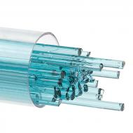 Light Aquamarine Blue Transparent, Stringer, 2 mm, Fusible, by the Tube