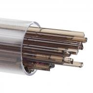 Light Bronze Transparent, Stringer, 2 mm, Fusible, by the Tube