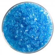 Light Turquoise Blue Transparent, Coarse Frit, Fusible, 5 oz. jar