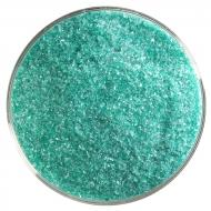 Emerald Green Transparent, Fine Frit, Fusible, 5 lb. jar
