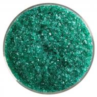 Emerald Green Transparent, Medium Frit, Fusible, 5 oz. jar