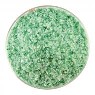 Mint Green Opalescent, Aventurine Green Transparent 2-Color Mix, Medium Frit, Fusible, 5 oz. jar