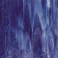 Royal Purple, Powder Blue Opal 2-Color Mix, Single-rolled, 3 mm, Fusible, 17x20 in., Half Sheet