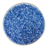 Caribbean Blue Transparent, White Opalescent 2-Color Mix, Medium Frit, Fusible, 1 lb. jar