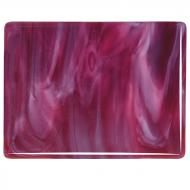 Cranberry Pink, White 2-Color Mix, Double-rolled, 3 mm, Color Sample, 2x2 in.