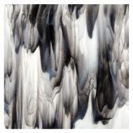 Clear, White Opalescent, Black 3+ Color Mix, Double-rolled, 3 mm, Fusible, 35x20 in., Full Sheet