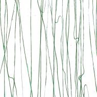 Forest Green  Clear Base Collage, Single-rolled, 3 mm, Fusible, 35x20 in., Full Sheet