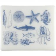 Fusible Decals, Sea Life, Blue