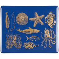 Fusible Decals, Sea Life, Gold