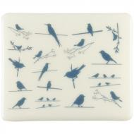 Fusible Decals, Birds, Blue