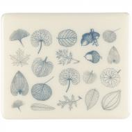 Fusible Decals, Leaves, Blue