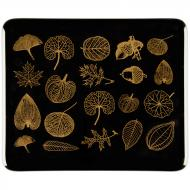 Fusible Decals, Leaves, Gold