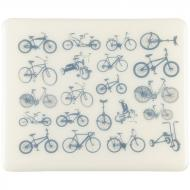 Fusible Decals, Bikes, Blue