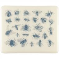 Fusible Decals, Bees, Blue