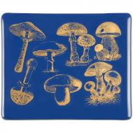 Fusible Decals, Vintage Mushrooms, Gold