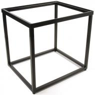 Accent Table Base, Recessed Top, Black Powder-Coat Finish
