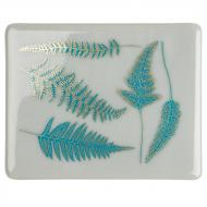 Fusible Decals, Ferns, Green-Gold 2-Color