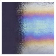 Special Production: Deep Gray Opalescent, Double-rolled, Iridescent, rainbow, 3 mm, Fusible, 10x10 in.