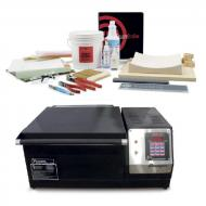 Paragon BenchTop-16 Kiln with Embedded Elements, Side Controller, 12 Key, with Kiln Kit
